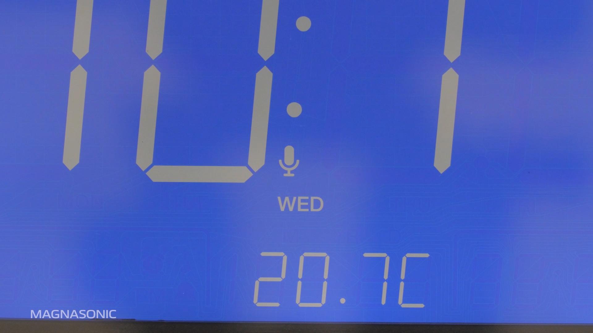 How to set a Custom Alarm on the Magnasonic CR65 Clock Radio