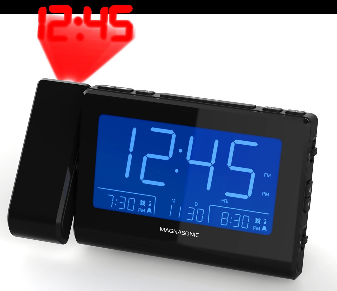 Magnasonic CR64 Alarm Clock Radio