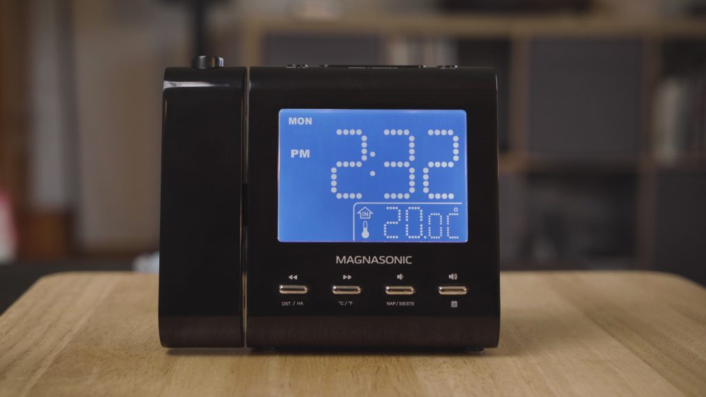 How to Set the Timezone, Date, Time and Alarm on the Magnasonic EAAC601 Projection Alarm Clock Radio